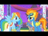 Rainbow dash y spitfire