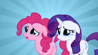 Rarity & Pinkie Pie in tears S2E19