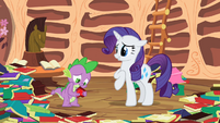 Rarity looking cute S2E10