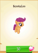 Scootaloo MLP Gameloft