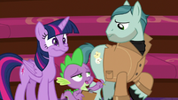 "Spike ""best acting we've seen all day"" S8E7"