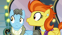 Stormy Flare and Wind Rider hears the door S5E15