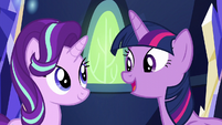 Twilight and Starlight --without further ado-- S6E12