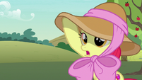 "Apple Bloom ""I wanted to wear a signature hat like yours"" S7E9"