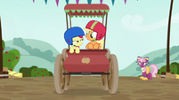 Apple Bloom 'Can't we go any faster' S6E14