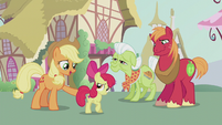 "Applejack ""go on and party with your pals"" S5E18"
