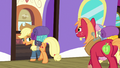 "Applejack ""somepony's in an awful quick hurry"" S6E17.png"