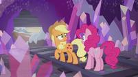 Applejack -you don't even get presents-!- S5E20