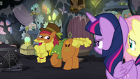 Cattail -both, I suppose- S7E20
