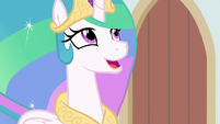 Celestia -that special stage pony bond- S8E7