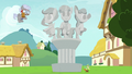 Chipcutter makes sculpture of the Crusaders S7E6.png