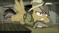 Daring Do giving chase after Caballeron S9E21