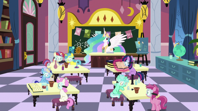 File:Flashback to Celestia's School for Gifted Unicorns S7E1.png