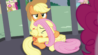 Fluttershy -I thought we were friends!- S4E26