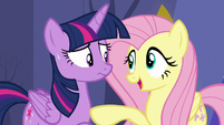 Fluttershy -They're probably just as nervous- S5E11