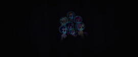 Mane Six hear something in the darkness MLPTM