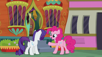 "Pinkie Pie ""thank goodness!"" S6E12"