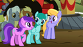 Ponies mumbling about song S2E15.png
