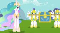 Princess Celestia -I have them right here- S03E10