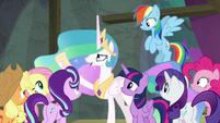 Princess Celestia -we have a show to do!- S8E7