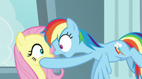 "Rainbow Dash ""you want to talk about"" S9E21"