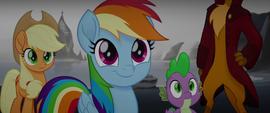 Rainbow Dash flattered by Mullet's praise MLPTM