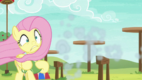 Rainbow speeds away from Fluttershy S6E18