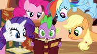 Rarity & Rainbow Dash listening S3E5