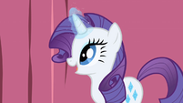 Rarity smiling S1E1
