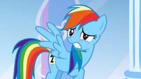 Scared Rainbow Dash S1E16