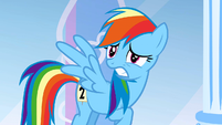 Scared Rainbow Dash S1E16