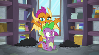 "Smolder ""uncontrollable volume shifts"" S8E11"