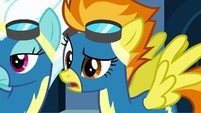 "Spitfire ""are we under investigation?"" S7E23"
