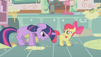 "Twilight Sparkle ""Not even magic"" S1E12"