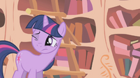 Twilight hears the front door slam S1E05