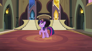 Twilight in old pony sisters' castle S4E01