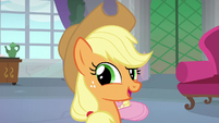 "Applejack ""about workin' together"" S8E9"