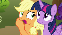 "Applejack ""gonna be doin' this a lot"" S9E13"