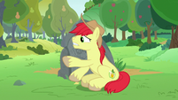 Bright Mac doesn't want Pear Butter to leave S7E13