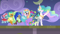 Celestia -throw off that musty hat- S8E7