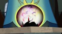 Crystal ball shows Magic of Friendship S9E2
