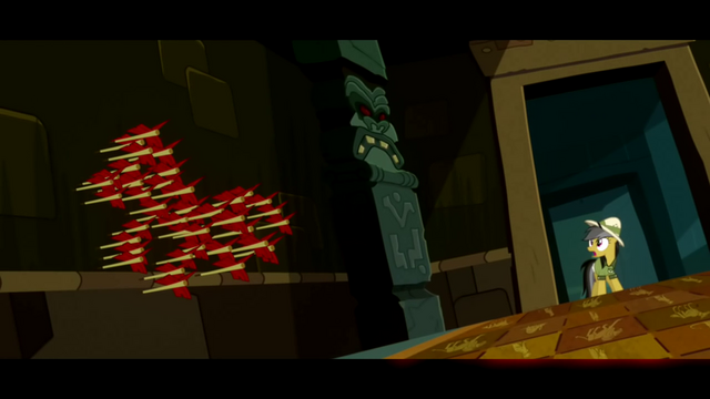 Файл:Daring Do sees the arrow trap S02E16.png