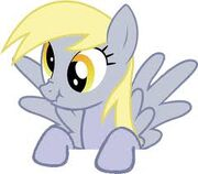 FANMADE Derpy peering over