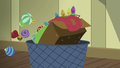 Hearth's Warming decorations thrown in the trash S6E8.png