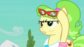 Ms. Peachbottom lifts up glasses S03E12.png