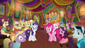 Pinkie, Rarity, and ponies speechless S6E12.png