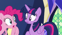 Pinkie Pie -so then pink pony said- S7E11