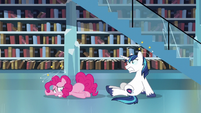 Pinkie Pie and Shining Armor feeling dizzy S6E2