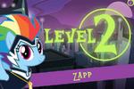 Power Ponies Go level 2 intro screen