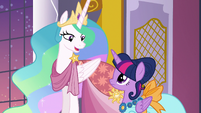Princess Celestia -you have nothing to apologize for- S5E7